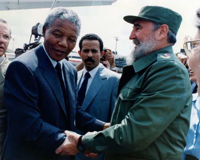 Cuba's revolution remained close to Mandela's heart. [ANC Archive]