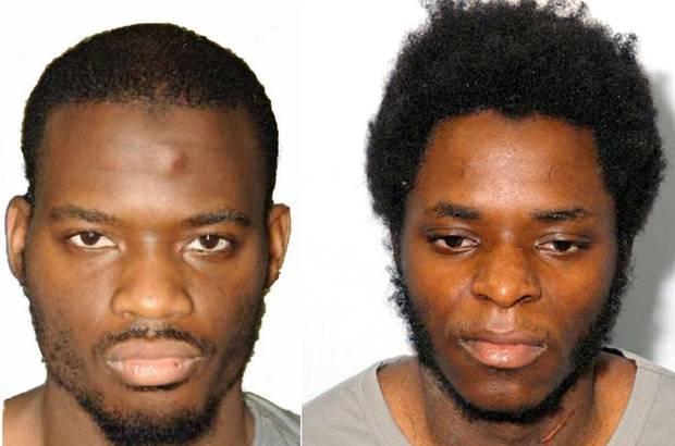 Michael Adebolajo, left, Michael Adebowale.