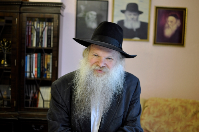 Rabbi Herschel Gluck established the Muslim-Jewish Forum in 2000. [Simon Hooper]