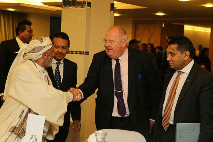 Eric Pickles pictured at an Iftar event last year [Photo: www.gov.uk]