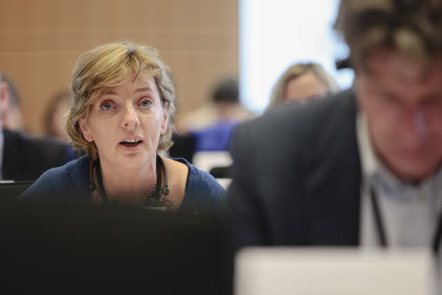 "Liadh Ni Riada says the Irish language is ""excluded and ignored"" in EU institutions"