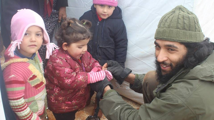 Tauqir Sharif has worked in Syria since 2012. [Photo: Aid Convoy]