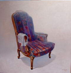 Decorated Chair [Photos courtesy of Hay Hill Gallery]